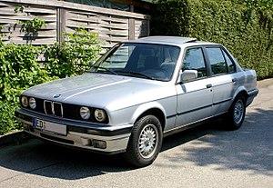 BMW 3 Series (E30) - Image: Bmw e 30