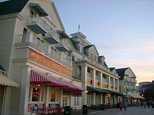 Disney's BoardWalk Resort - Image: Boardwalk Inn