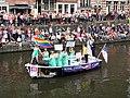 Boat 45 Make America Gay Again, Canal Parade Amsterdam 2017 foto 1.JPG
