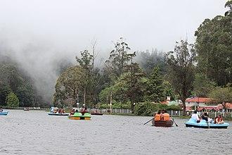 Kodaikanal - Boating in Kodaikanal Lake