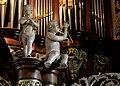 Boazum, Sint-Martinustsjerke, Heinemann-Knol-orgel, muzykjende ingels.jpg