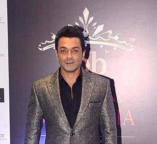 Bobby Deol Indian actor