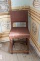 Bockbord gjort av omålad furu och stolar av ek, 1600-tal - Skoklosters slott - 95176.tif