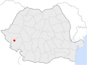 Bocșa - Image: Bocsa in Romania