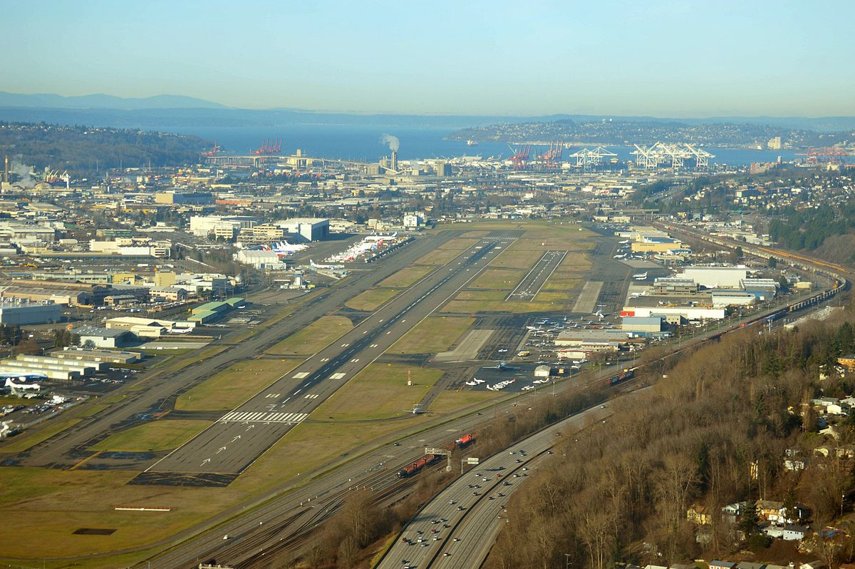 Tacoma To Seattle >> King County International Airport – Wikipedia