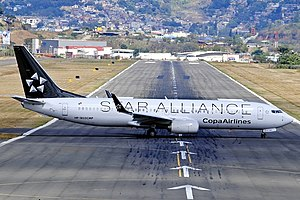 Copa Airlines -  In June 2012, Copa Airlines became one of the first Latin American airlines to enter the Star Alliance.