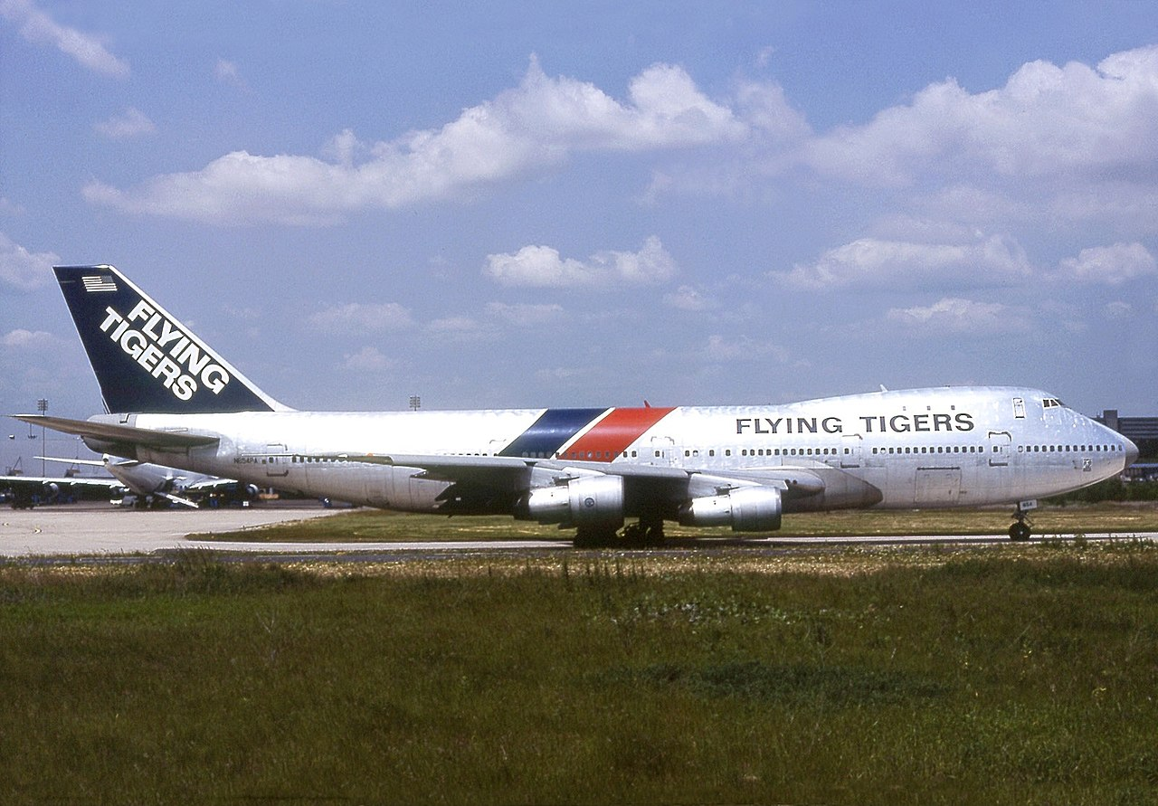 file boeing 747 121 a sf flying tigers wikimedia commons. Black Bedroom Furniture Sets. Home Design Ideas