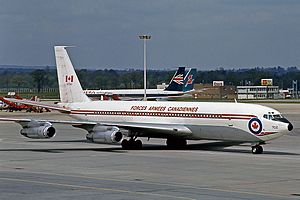 Boeing CC-137 - A Canadian Armed Forces Boeing 707 (CC-137)