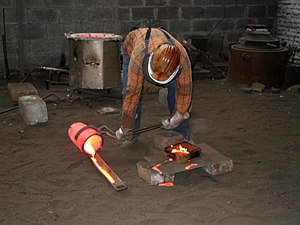 Metallurgy - Casting bronze
