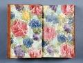 Bok med färger på pärmens insida - Skoklosters slott - 86148.tif