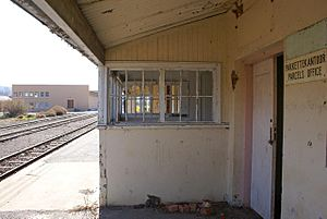 Bonnievale, Western Cape - Old railway station in Bonnievale