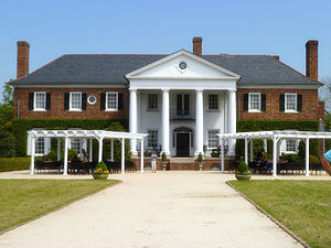 Boone Hall - The main house at Boone Hall