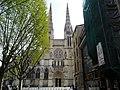 Bordeaux (33) Cathédrale Saint-André Transept nord Façade 03.jpg