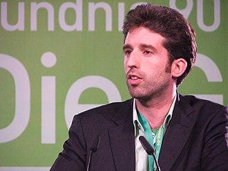 Boris Palmer - Boris Palmer at a Green Party convention, 2006