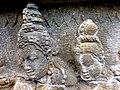 Borobudur - Divyavadana - 082 N, The Sky rains down Jewels (detail 5) (11706065933).jpg