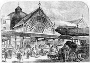 Borough market c1860