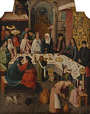 Bosch The marriage-feast at Cana (Boijmans Van Beuningen).jpg