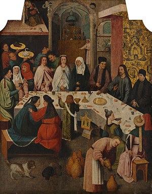 Bosch The marriage-feast at Cana (Boijmans Van Beuningen).jpg