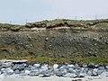 Boulder clay cliffs at Tràigh na h-Uidhe - geograph.org.uk - 1497101.jpg