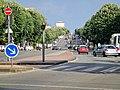 Boulevard du maréchal Leclerc à Bordeaux depuis la barrière d'Ornano.jpg