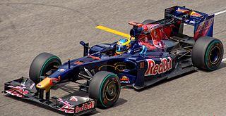 Toro Rosso STR4 racing automobile