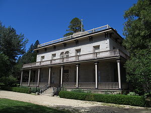 Bowers Mansion - The mansion in 2012