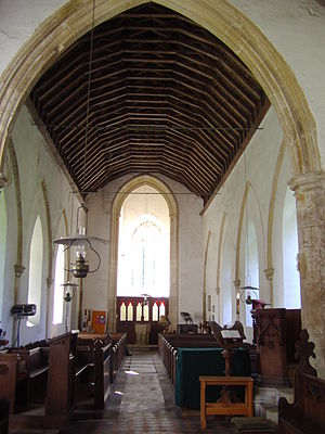 Bradfield, Norfolk - Image: Bradfield Parish Church 1st September 2008 (4)