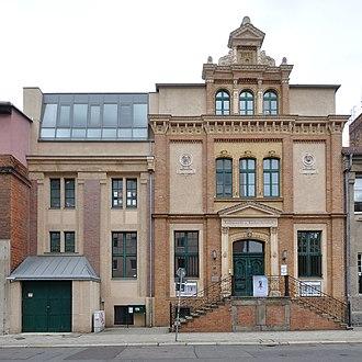Kunstgewerbeschule - Kunstgewerbeschule Magdeburg building