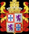 Brasão do Conde do Rio Pardo (Dom Diogo Martim de Sousa Teles de Meneses).png