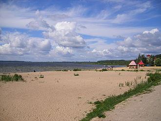Braslaw Lakes - Lake Dryvyaty