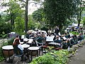 Brass Band at The Diggle Hotel - geograph.org.uk - 502601.jpg