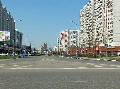 How to get to Братиславская Улица with public transit - About the place