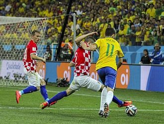 Brazil and Croatia match at the FIFA World Cup 2014-06-12 (27).jpg