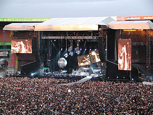 Depeche Mode - Touring the Angel concert in Bremen, June 2006.