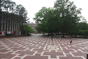 Main Campus of North Carolina State University - Brickyard
