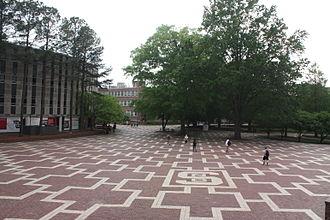 Main Campus of North Carolina State University - Brickyard
