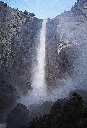 Bridalveil Fall - Base of Bridalveil Fall