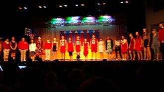 Brighton High School (Rochester, New York) - Summer 2017 production of High School Musical curtain call