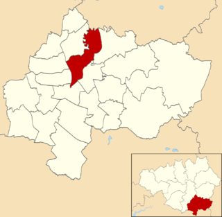 Brinnington and Central (Stockport electoral ward) Human settlement in England