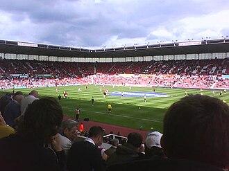 Bet365 Stadium - Image: Britannia Stadium 1