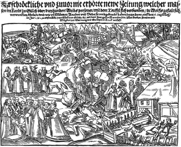 File:Broadside of Werewolves from Jülich, Germany. Georg Kress, 1591..jpg