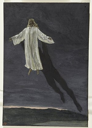 Jesus Transported by a Spirit onto a High Mountain