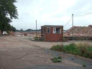 Browns Lane plant - Browns Lane plant demolished
