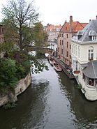 Bruges canal corner