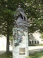 Bruxelles - Statue du Père Damien à la Basilique du Sacré-Cœur.JPG