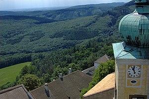Central Moravian Carpathians - Image: Buchlov castle 14