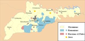 Chernivtsi Oblast - Image: Bucovina ethnic