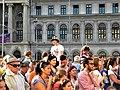 Bucuresti, Romania. Piata Universitatii. UNIVERSITATEA BUCURESTI. (B-II-m-A-18674). B-FIT IN THE STREET 2018. Mascota Festivalului. (12).jpg