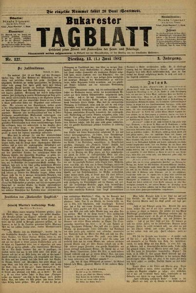 File:Bukarester Tagblatt 1882-06-13, nr. 127.pdf