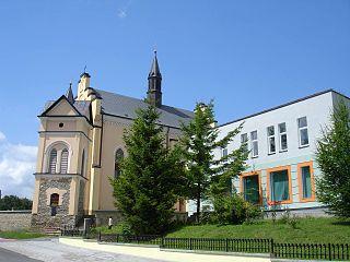Bukowsko Village in Subcarpathian Voivodeship, Poland